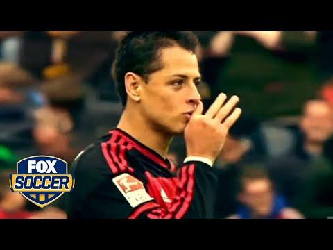 Chicharito discusses German language at Bayer Leverkusen