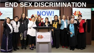 First Nation Women Leaders & Advocates Call for End to Sex Discrimination