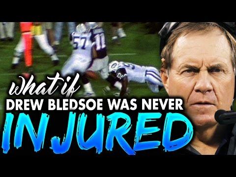 What if Drew Bledsoe NEVER Got Injured? Would Tom Brady Still be an AMAZING Patriots NFL Legend?