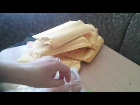 Распаковка большой посылки с Алиэкспресс Алмазная вышивка