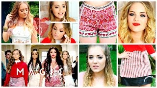 One of LucyAndLydia's most viewed videos: GET THE LOOK: LITTLE MIX 'BLACK MAGIC' MAKEUP TUTORIAL, HAIR & OUTFITS | LucyAndLydia
