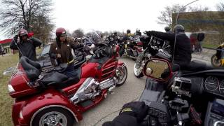 2017 New Years Day Goldwing ride | High Rollers MC