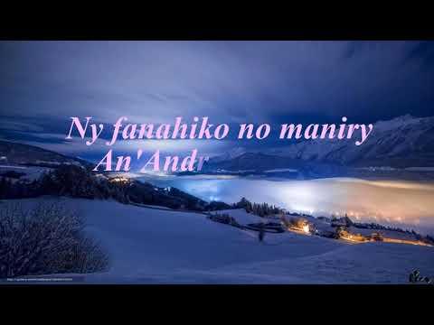 NY FANAHIKO - Ndriana RAMAMONJY - Karaoke
