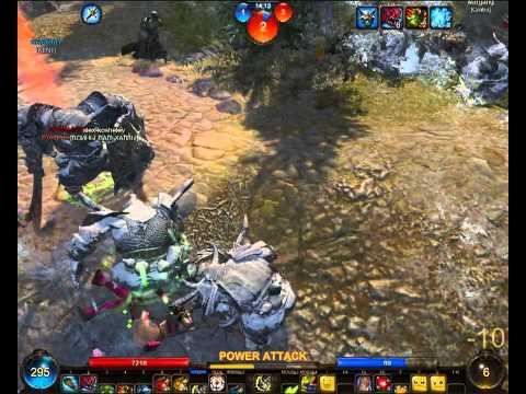 видео: panzar берсерк 30 лвл на Каменоломня гномов