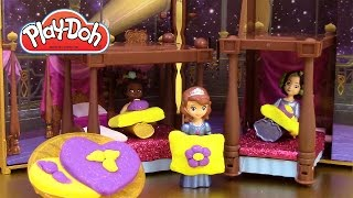 Princesse Sofia Ensemble Soirée Pyjama Play Doh ♥ Sofia the first Sleepover Slumber Party