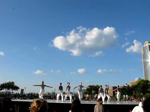 Merce Cunningham Tribute in Rockefellow Park, NYC, 2010 River to River Festival