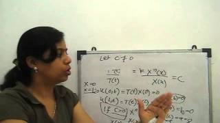 One dimensional Heat equation solve by variable - separable method