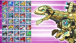Dino Robot Battle Arena: Giganotosaurus (Assembly + Fights) | Eftsei Gaming