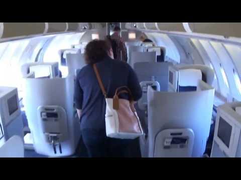 British Airways Club World flight from LAS-LHR  Boeing 747