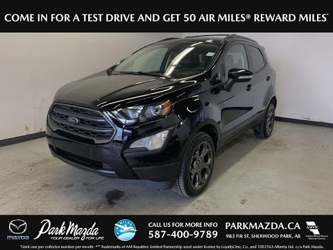 BLACK 2018 Ford EcoSport Review - Park Mazda