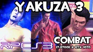 [RPCS3] Yakuza 3 - Combat Gameplay | i7-8700k