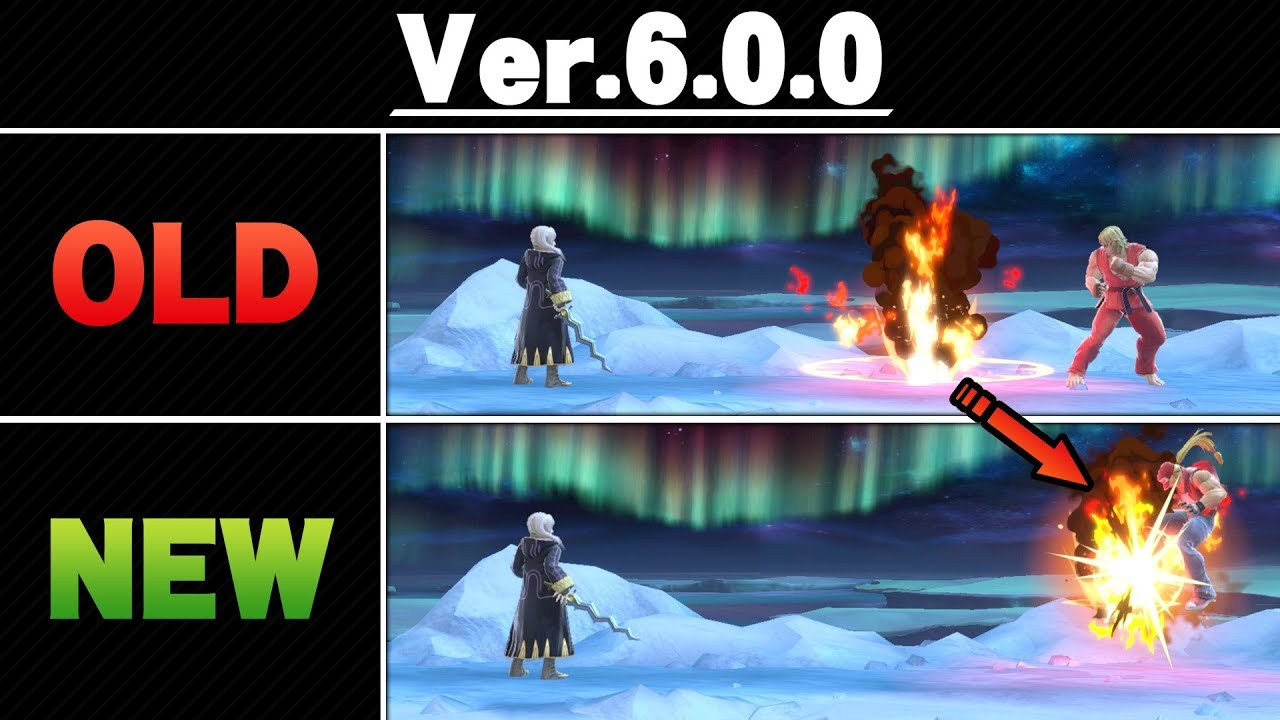Smash Ultimate Patch 6.0.0 - Side By Side Comparison thumbnail