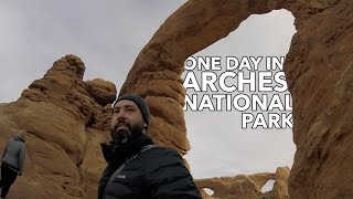 Arches National Park In 7 Minutes + Salt Lake City to Moab Road Trip