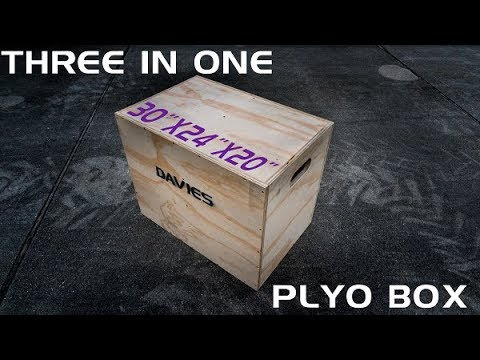 How to Build a DIY 3 in 1 Crossfit Plyo Box with One Sheet of Plywood