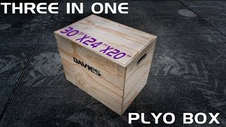 How to Build a DIY 3 in 1 Plyo Box with One Sheet of Plywood