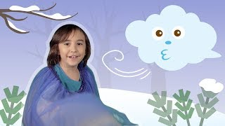 The North Wind Does Blow 🌬️ | WINTER ANIMAL RHYMES | Mother Goose Club Playhouse Kids Video
