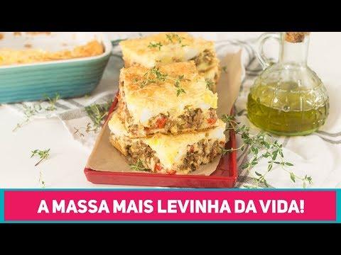 TORTA DE LIQUIDIFICADOR mais DIFERENTONA que você já viu! | Carne Moída | Receitas de Minuto 452