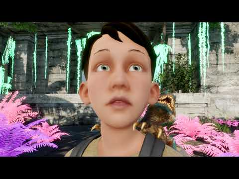 Sebastian Lightfoot - Paradise, positive instrumental pop music Official animated music video