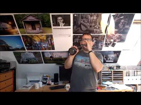 Blues Harmonica Improvisation with a Karaoke Microphone