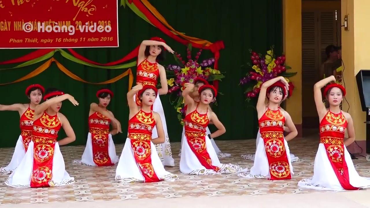 🎵 Múa Vui Hội Thầy Cô ❤️ Lớp 9E Trường THCS Phan Thiết, Tuyên Quang