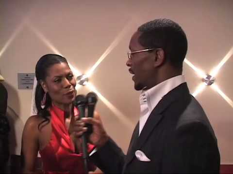 Reality TV Star Omarosa on the Red Carpet of the 2010 Trumpet Awards