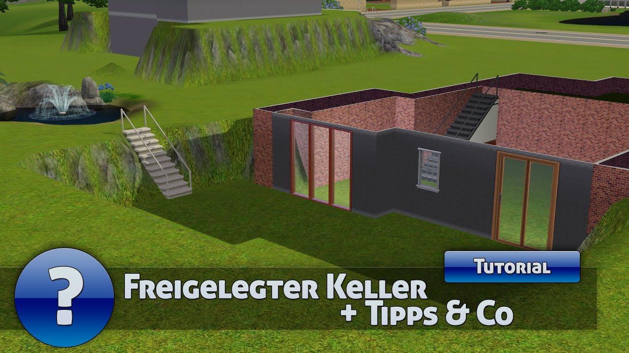 Die Sims 3   Tutorial   Freigelegter Keller + Tipps U0026 Co (Deutsch) [HD]