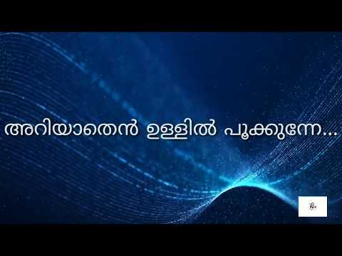 Ariyathen Ullil pookunne whatsapp status | Malayalam Lyrics |Mangalyam Thanthunanena Malayalam Album