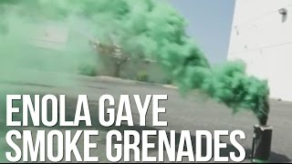 Enola Gaye Smoke Burst and Wire Pull Airsoft Grenades - AirSplat On Demand