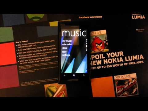 Nokia music with mix radio and microsoft zune.