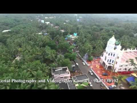 Helicam Drone Aerial Shoot Church Mulagumoodu Tamilnadu