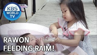 Rawon feeding Raim! [The Return of Superman/2019.08.14]