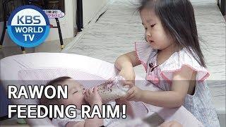 Rawon feeding Raim! [The Return of Superman/2019.08.14]