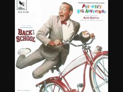 Breakfast machine - Danny Elfman (Pee-Wee's Big Adventure soundtrack)