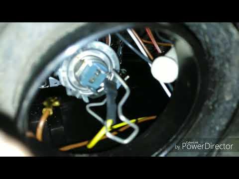Замена лампочки на шевроле нива