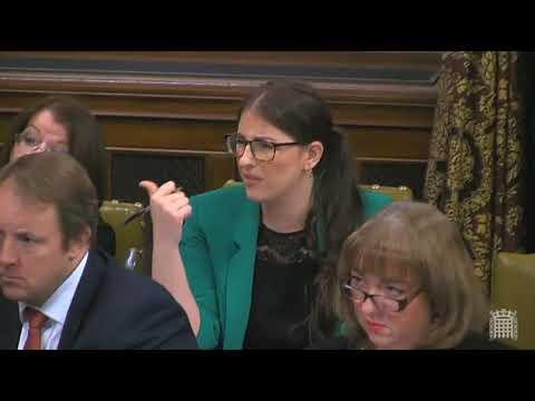 DWP Minister Sarah Newton's response to Laura Pidcock's PIP debate