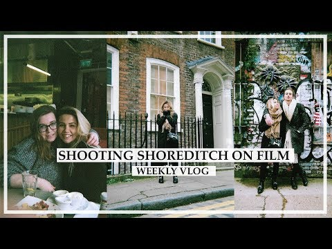 SHOREDITCH ON FILM | Weekly Vlog | Copper Garden