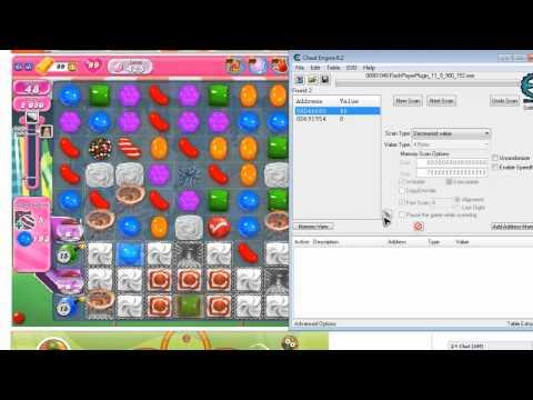 hướng dẫn hack candy crush saga bằng cheat engine - Candy Crush Cheat Engine 6.3