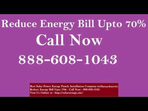 Best Solar Power (Energy Panels)  Installation Company in Shirley Massachusetts MA