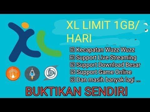 XL LIMIT 1GB/HARI SPEED JOZZZ !!! NO LEMOT ???