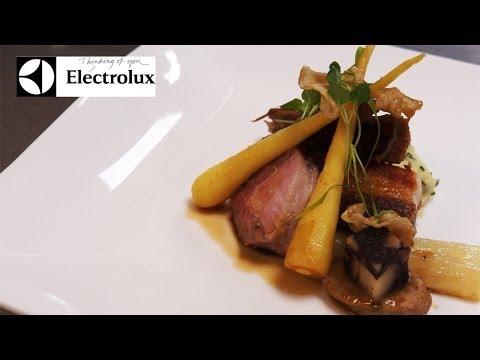 Michelin starred chef Nigel Haworth creates Langoustine, pork and pain perdu recipes