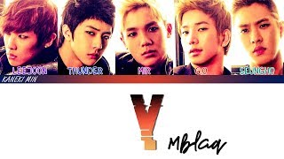 MBLAQ 엠블랙 - Y (HAN/ROM/ENG COLOR CODED LYRICS)