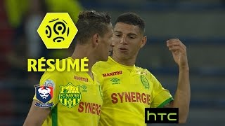 SM Caen - FC Nantes (0-2)  - Résumé - (SMC - FCN) / 2016-17