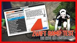 Neuer ZWIFT RAMP TEST I Ich habe ihn ausprobiert!
