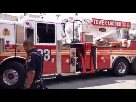 MY 6000TH SUBSCRIBER MILESTONE VIDEO SHOWING MANY FDNY FIRE TRUCKS RETURNING TO QUARTERS.