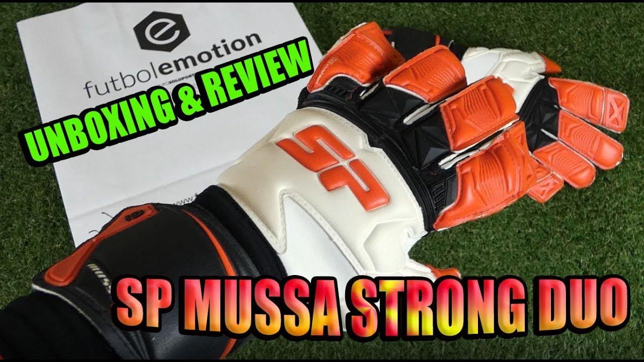 SP MUSSA STRONG DUO PRO - Unboxing   Review - Guantes de Portero ... ea4b9eea07224