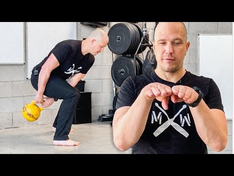 Kettlebell Warmups Figure 8 Back to Front