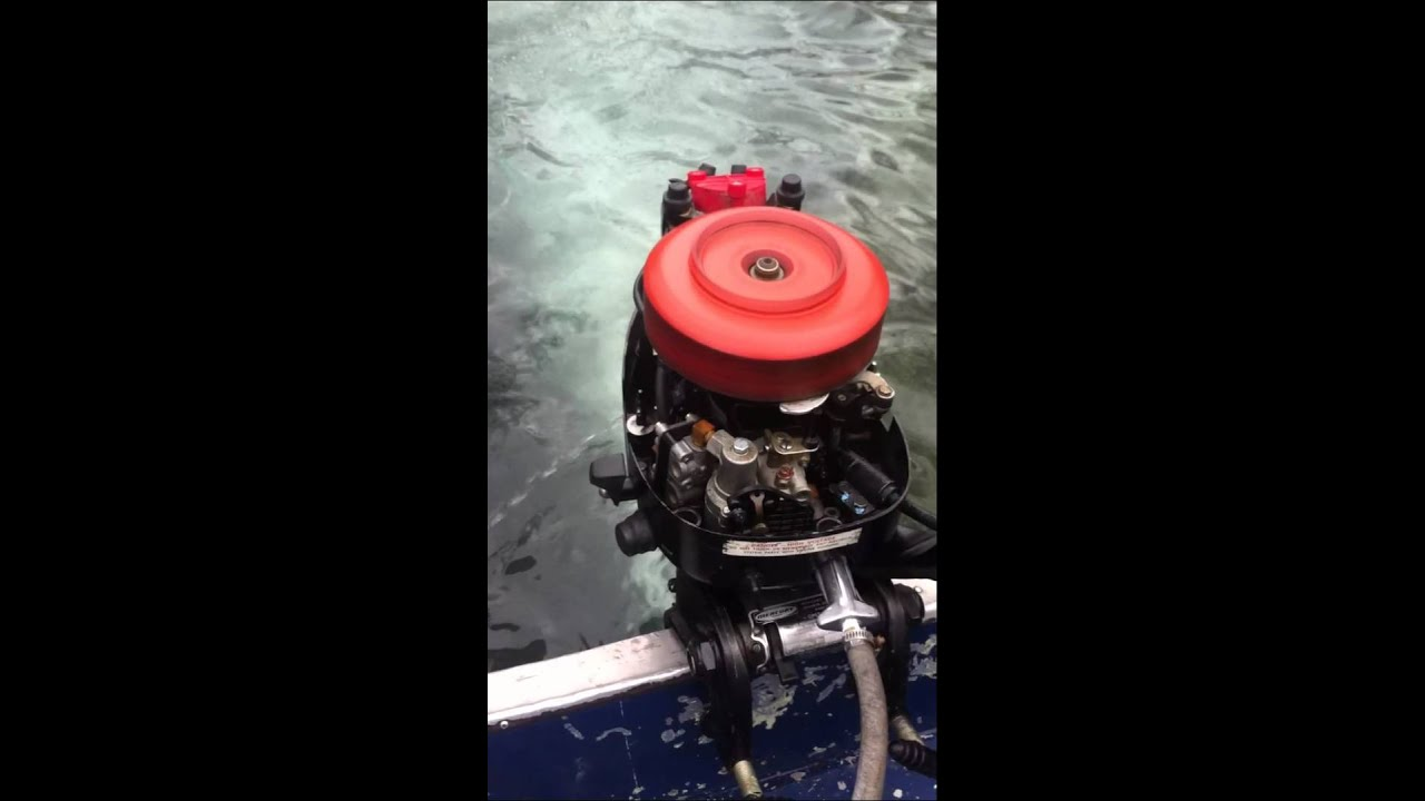 4 5 Hp Mercury Engine Run Cover Off Youtube