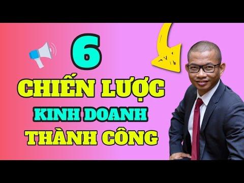 Khởi nghiệp kinh doanh thành công - 6 bài học về chiến lược kinh doanh thành công - Phạm Thành Long