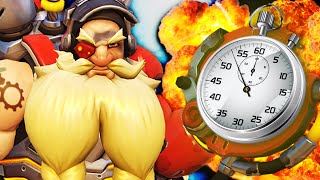 TORBJORN IN A MINUTE! Overwatch Torbjörn 1-Minute Guide | Overwatch Hero Review