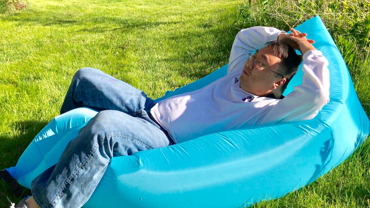 inflatable lounge furniture. Inflatable Air Filled Balloon Travel Furniture Lounger Chair Hammock By Esrover Review Lounge I